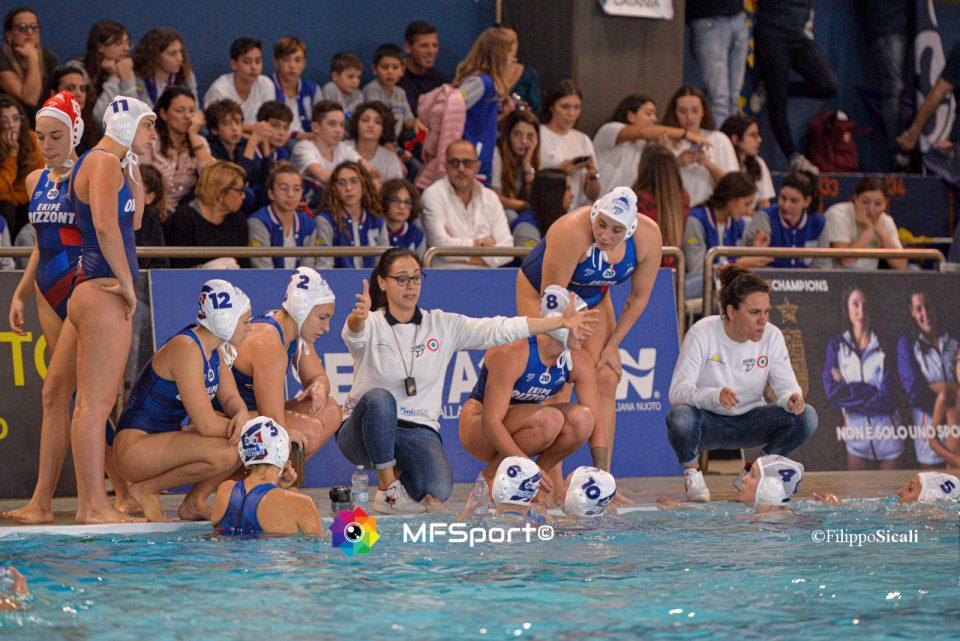Carolina Ioannou con  Martina Miceli, Tania Di Mario e l'Ekipe Orizzonte