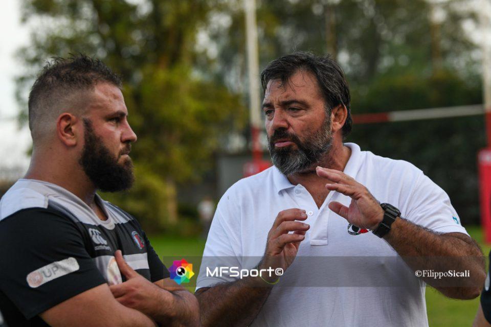 Ezio Vittorio con Vincenzo Delfino