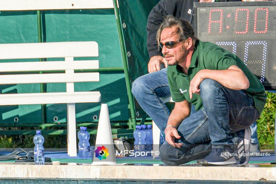 Stefano Piccardo, allenatore del CC Ortigia
