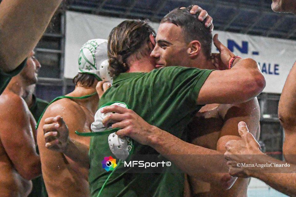 Stefano Piccardo abbraccia Stefan Vidovic