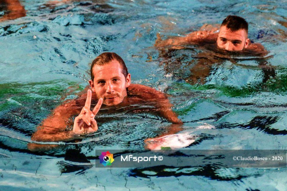 Niccolò Figari autore del gol della vittoria dei campioni di Shanghai 2011