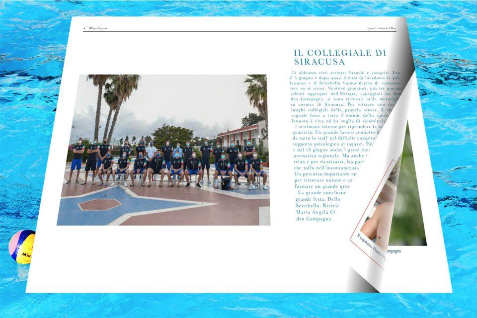 Il Magazine di MFSport dedicato al Settebello