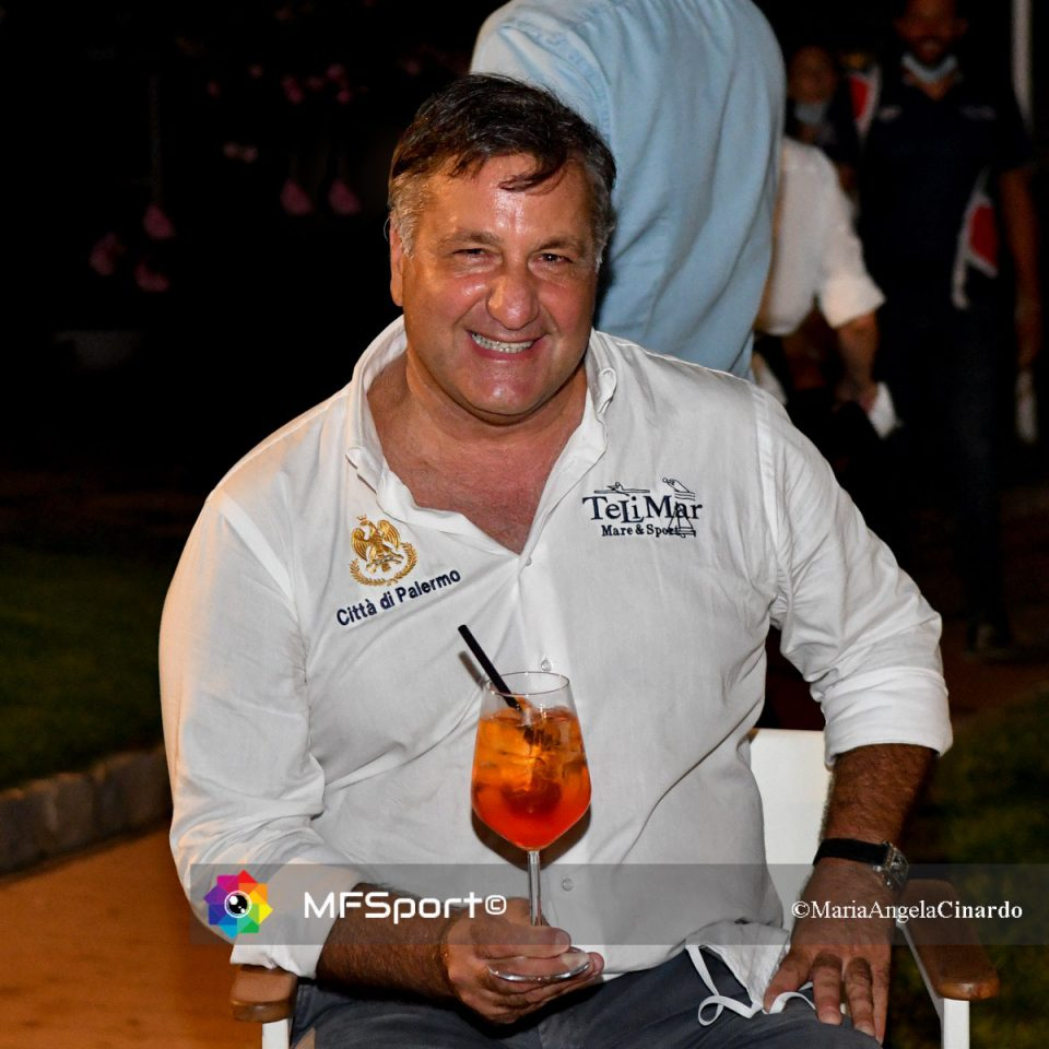 Il presidente del Circolo Telimar Marcello Giliberti