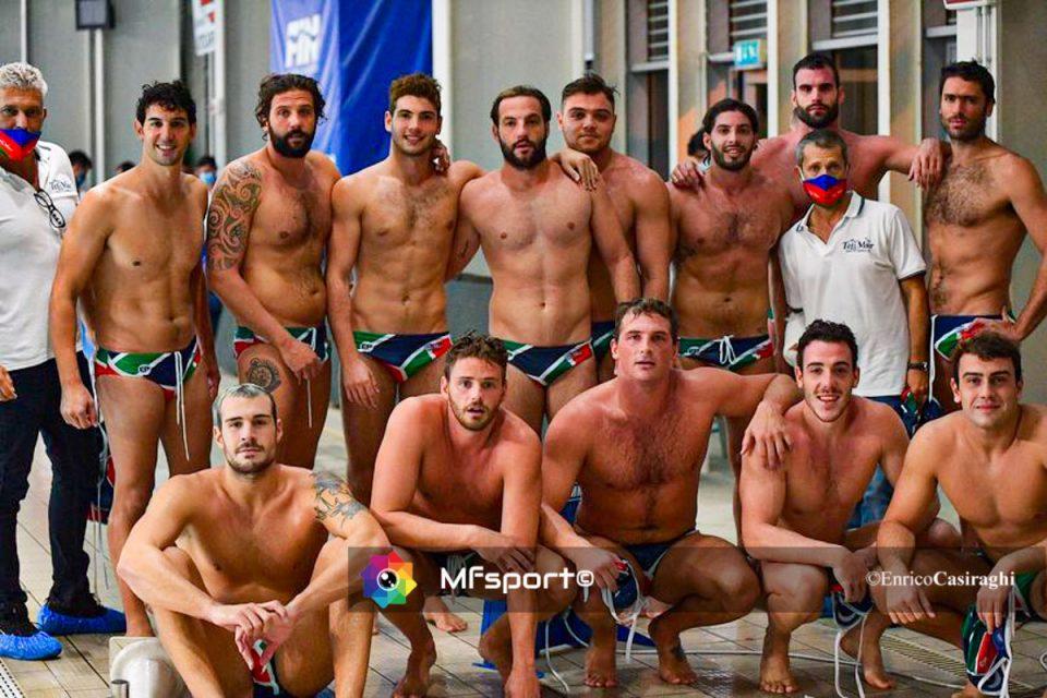 La squadra del Telimar a Savona per il primo turno di Coppa Italia