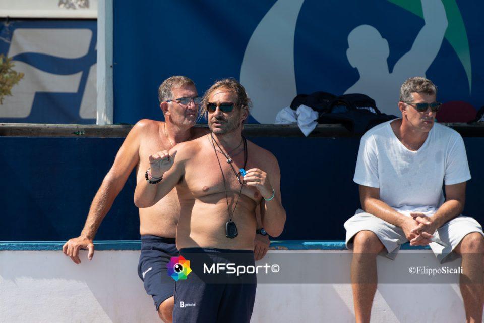 Stefano Piccardo con Giuseppe Cassia e Goran Volarevic
