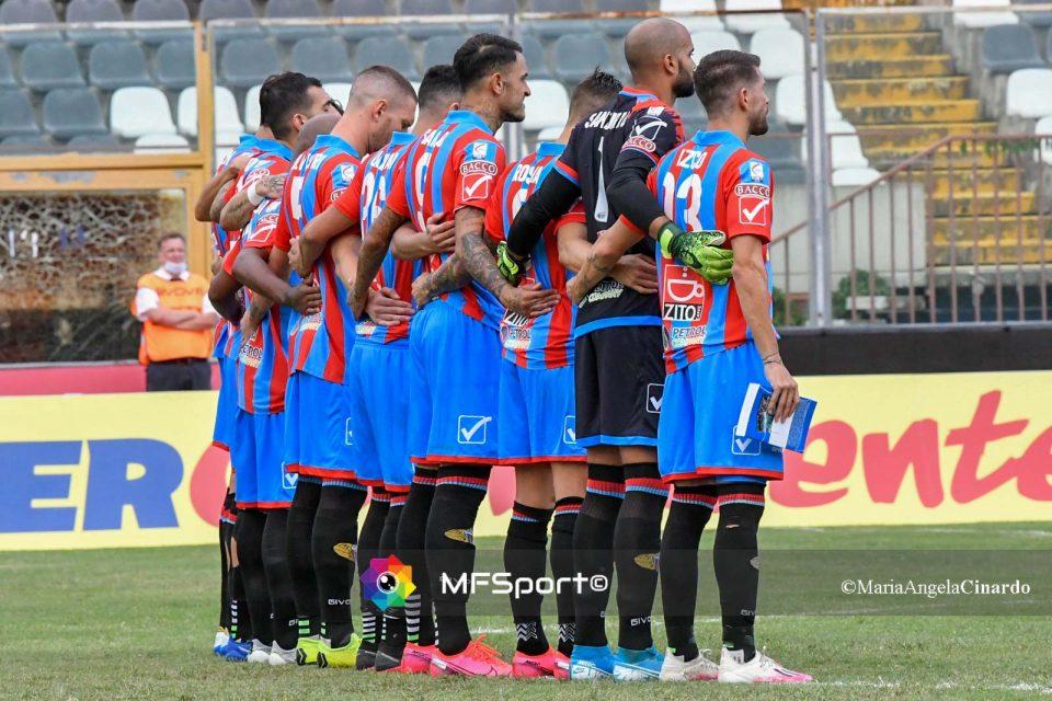 La formazione del Catania Calcio
