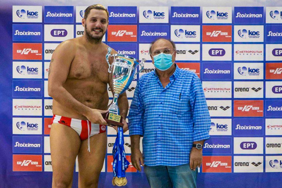 Ο Κωσταντίνος Μουρίκης κέρδισε το Ελληνικό Κύπελλο φέτος