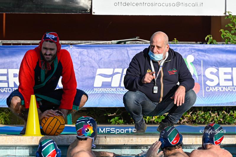 Pallanuoto A1 preliminary round: Marco Baldineti (coach Telimar Palermo)