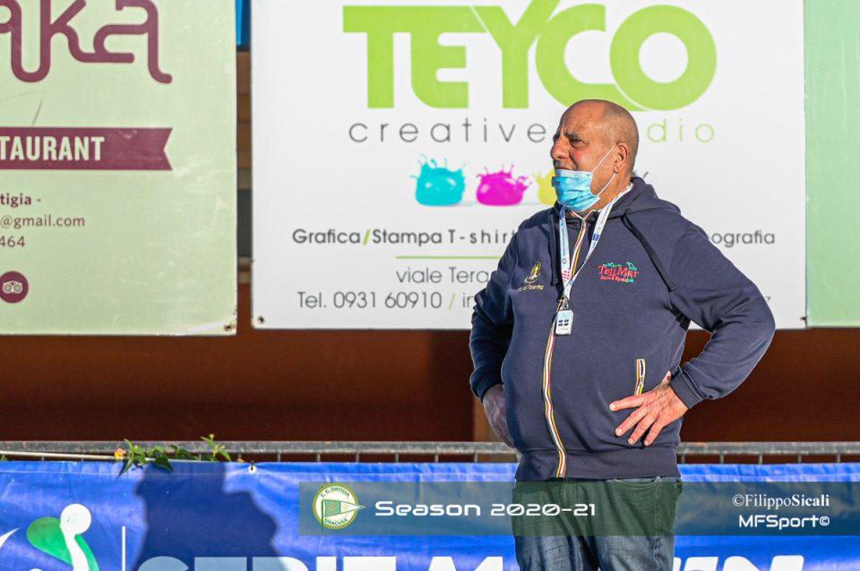 Marco Gu Baldineti allenatore del Telimar