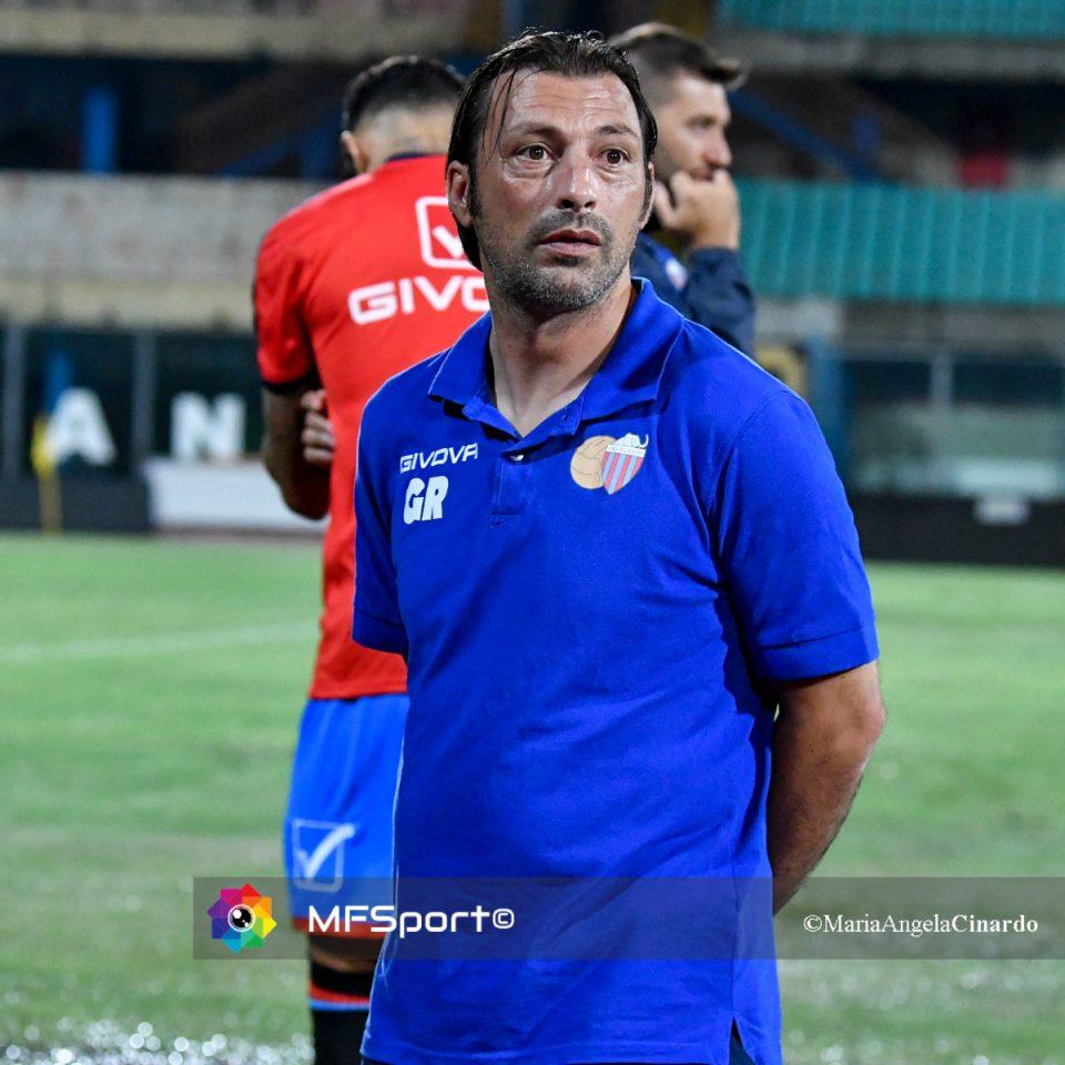 Giuseppe Raffaele, allenatore del Catania
