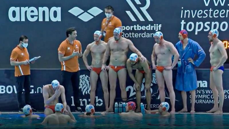 La nazionale di pallanuoto maschile Olanda