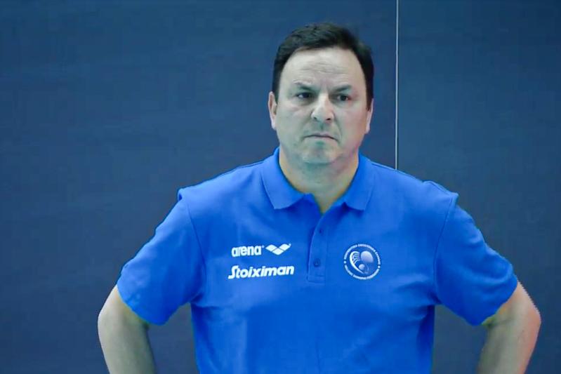 Theodoros Vlachos, coach Grecia
