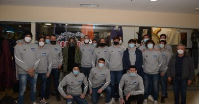 La squadra di pallanuoto del CN Civitavecchia