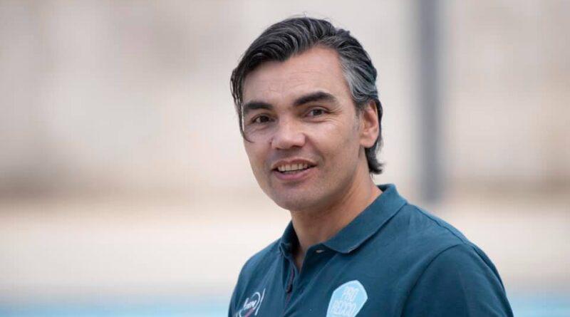 Gabi Hernandez allenatore della Pro Recco (Foto Salvatore Lopez)