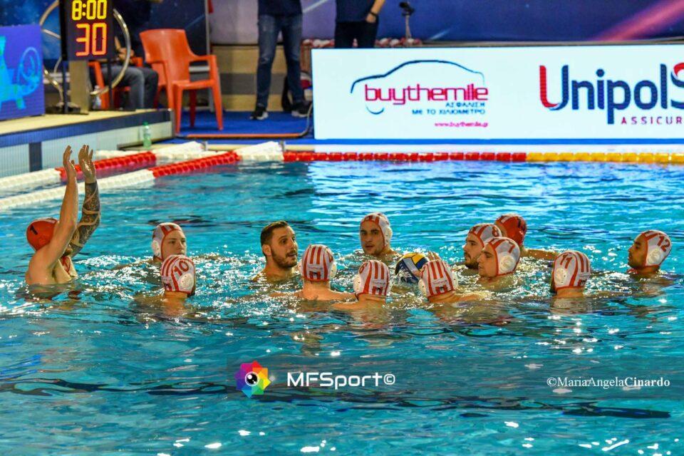 La squadra dell'Olympiacos