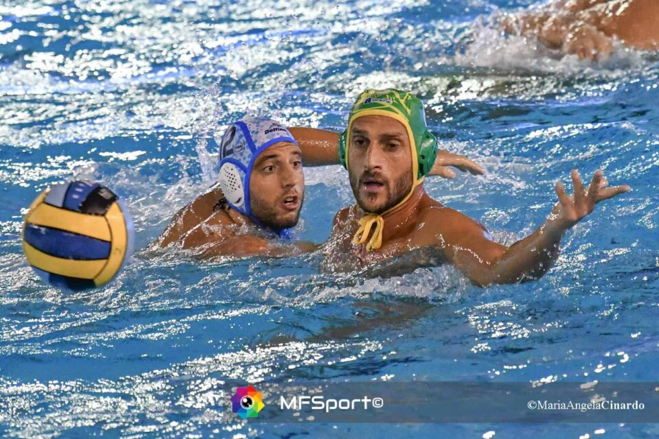 Valentino Gallo (CC Ortigia) e Stefano Luongo (Pro Recco)