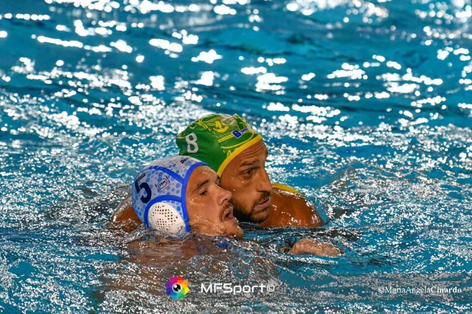Valentino Gallo (CC Ortigia) e Aroon Younger (Pro Recco)