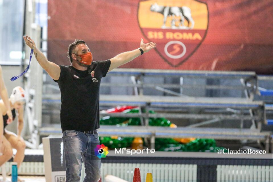 Il tecnico della SIS Roma, Marco Capanna.