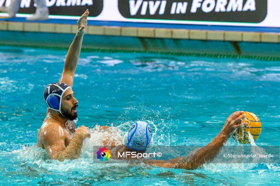 Vincezo Renzuto (AN Brescia) vs Aleksander Ivovic (Pro Recco)